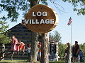 go to log village page